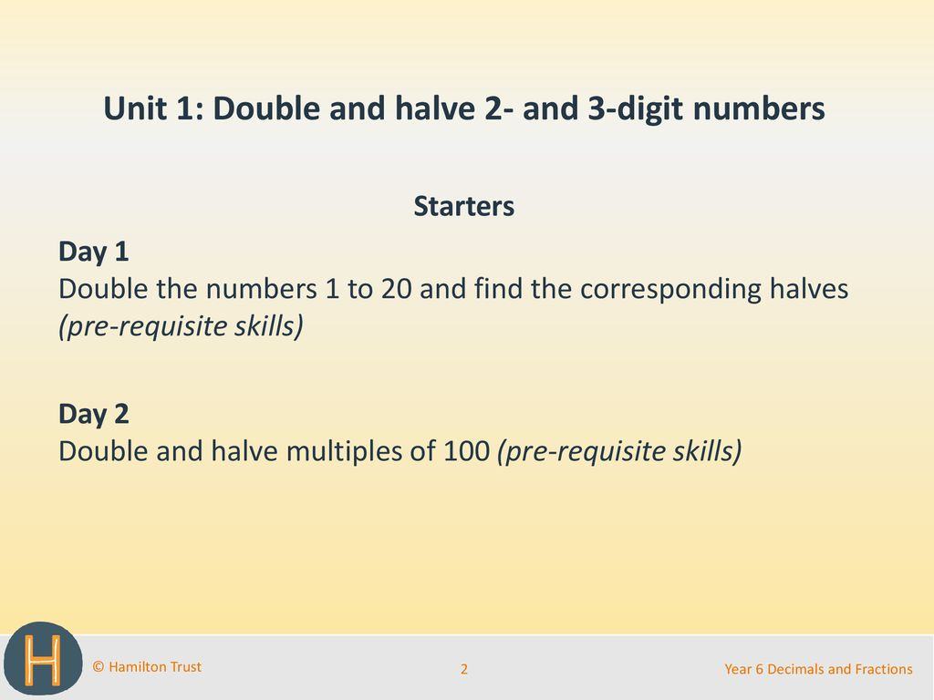 hight resolution of Doubling And Halving Decimals - halting time