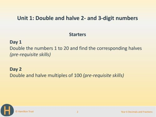 small resolution of Doubling And Halving Decimals - halting time