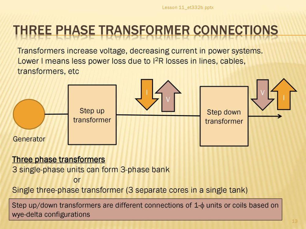 medium resolution of three phase transformer connections