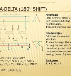 delta delta 180o shift advantages ideal for motor loads 3 wire [ 1024 x 768 Pixel ]