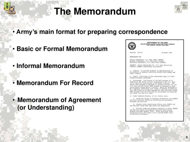 Effective Writing for Army Leaders - ppt download