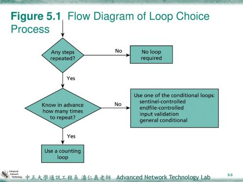 small resolution of 3 figure 5 1 flow diagram of loop choice process
