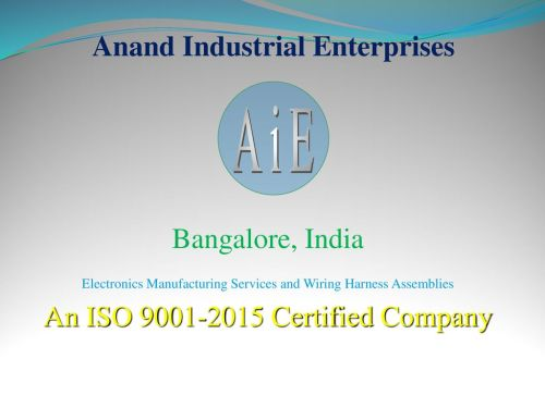 small resolution of 1 anand industrial enterprises aie bangalore india electronics manufacturing services and wiring harness