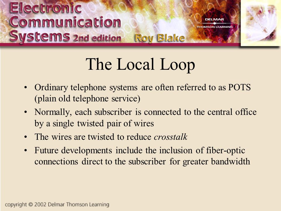 telephone wiring diagram auto gauge old system all data online home phone chapter eight the ppt