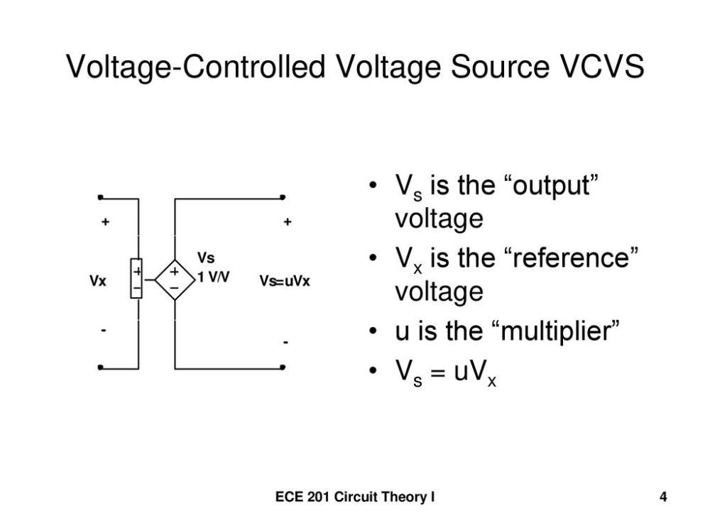 medium resolution of voltage controlled voltage source vcvs