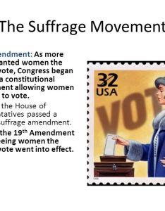 The suffrage movement also progressive ppt video online download rh slideplayer