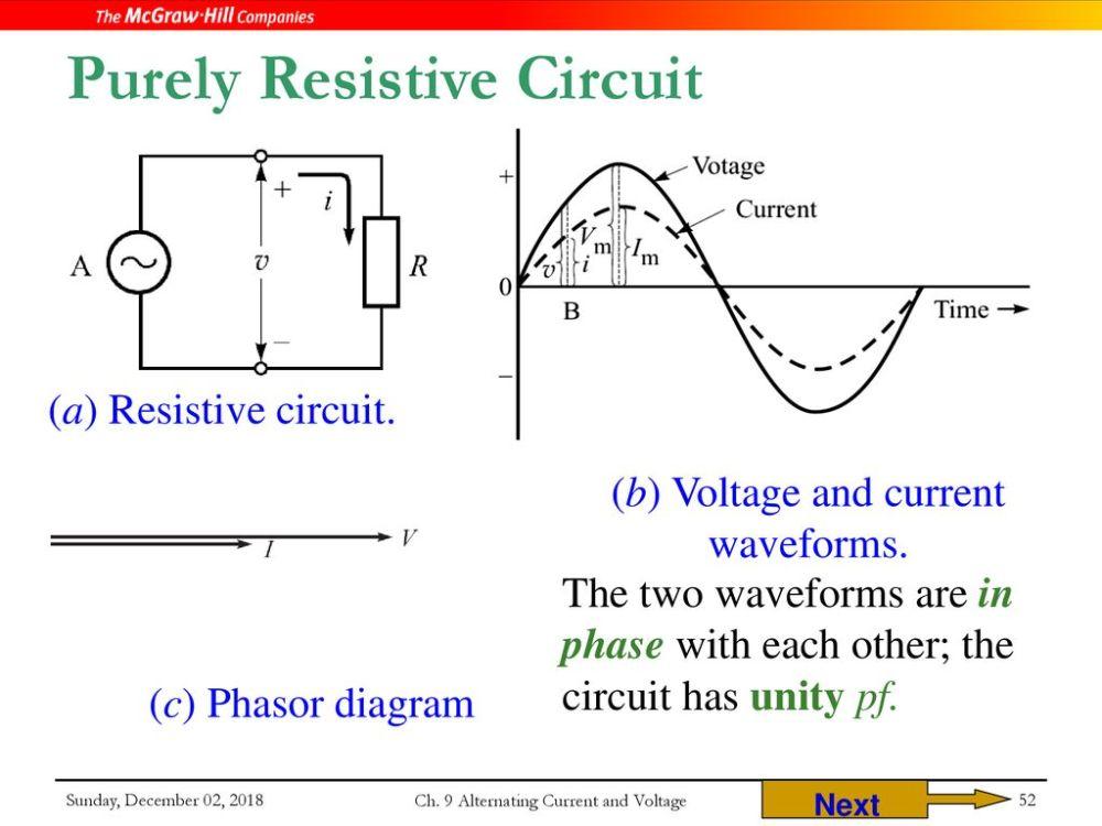medium resolution of purely resistive circuit