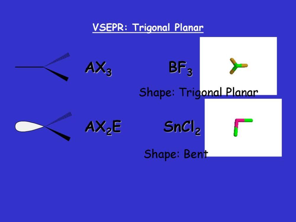medium resolution of 70 vsepr trigonal planar