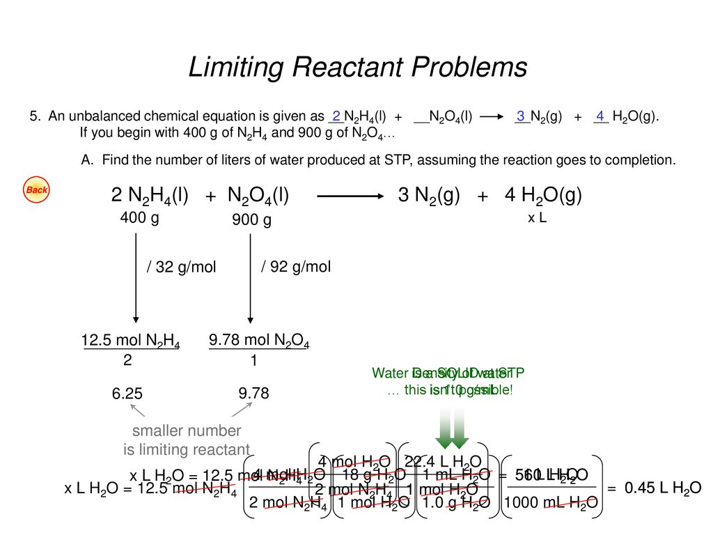 Limiting Reactants Worksheet 3 45 Moles Of Nitrogen