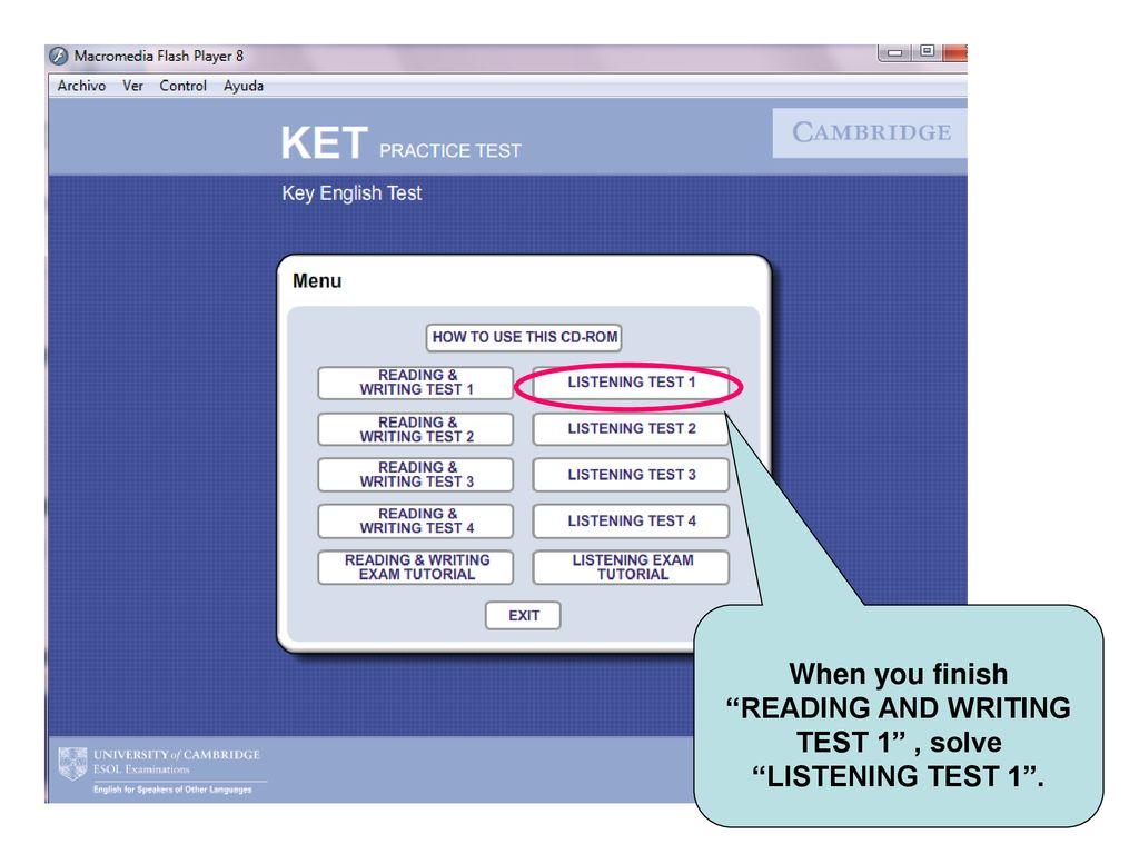 Test 1 Listening Cambridge 8