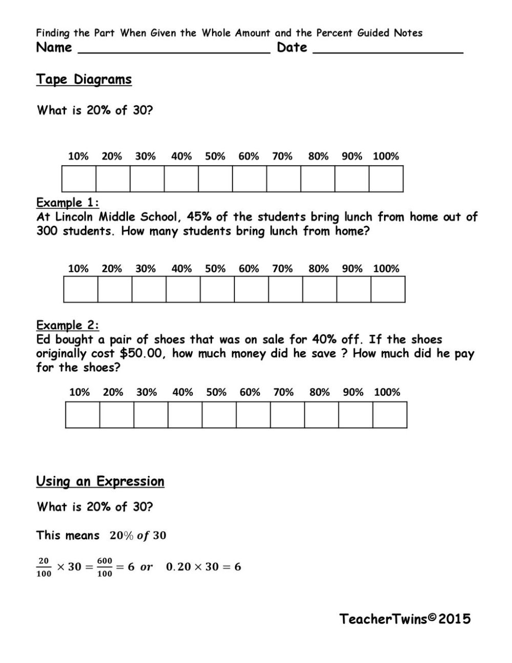 medium resolution of tape diagrams