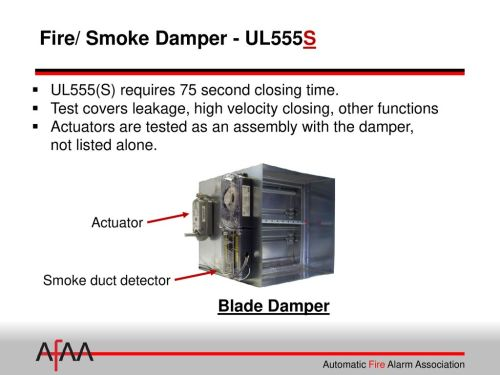 small resolution of  fire alarm interface of smoke dampers ppt download on smoke detector block diagram