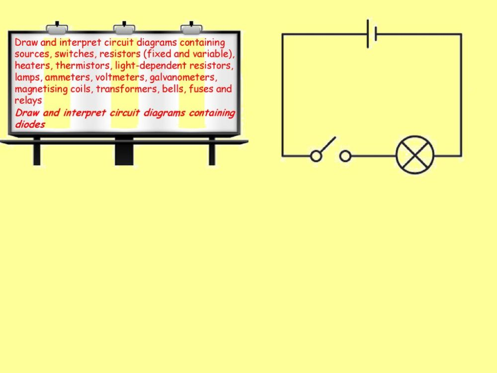 medium resolution of draw and interpret circuit diagrams containing sources switches resistors fixed and variable