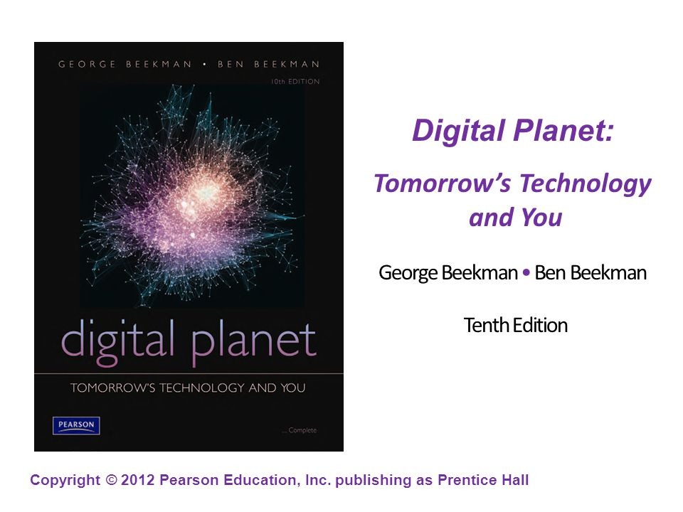 Tomorrow's Technology And You Ppt Video Online Download