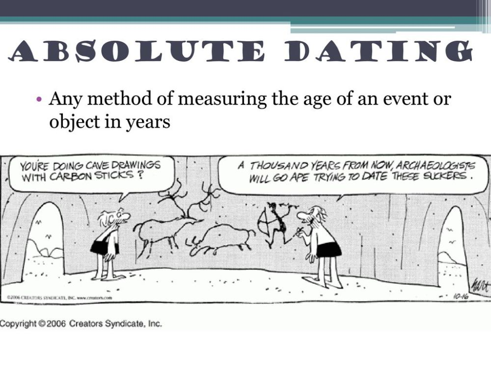 medium resolution of 3 absolute dating any method of measuring the age of an event or object in years