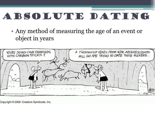 small resolution of 3 absolute dating any method of measuring the age of an event or object in years