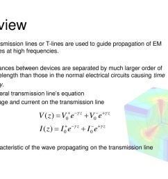 review transmission lines or t lines are used to guide propagation of em waves at [ 1024 x 768 Pixel ]