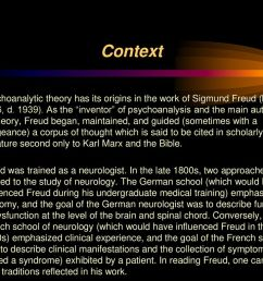 2 context psychoanalytic  [ 1024 x 768 Pixel ]