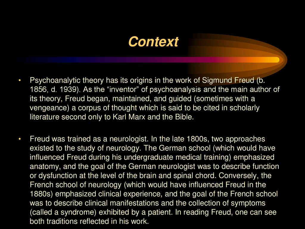 hight resolution of 2 context psychoanalytic