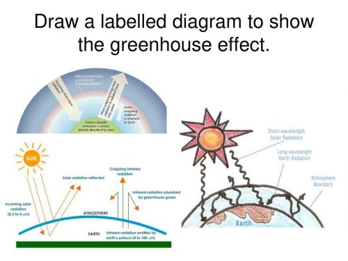 small resolution of 7 draw a labelled diagram to show the greenhouse effect