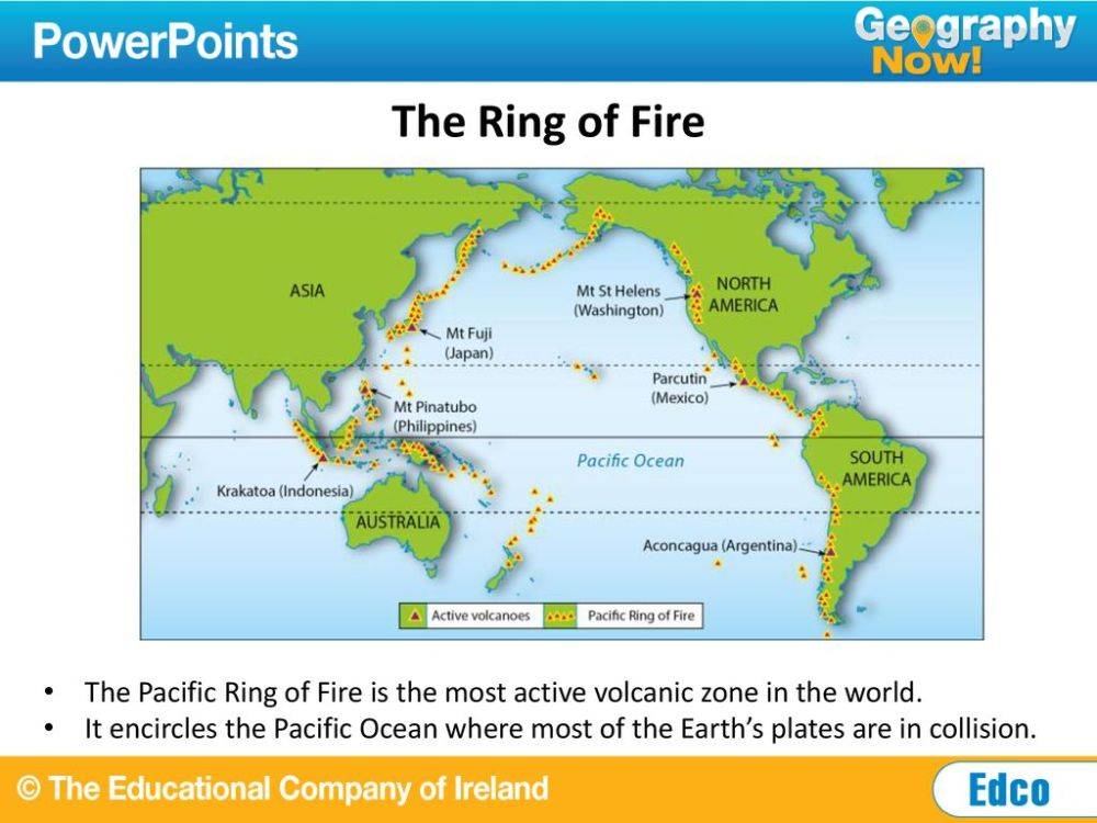 medium resolution of the ring of fire the pacific ring of fire is the most active volcanic zone in