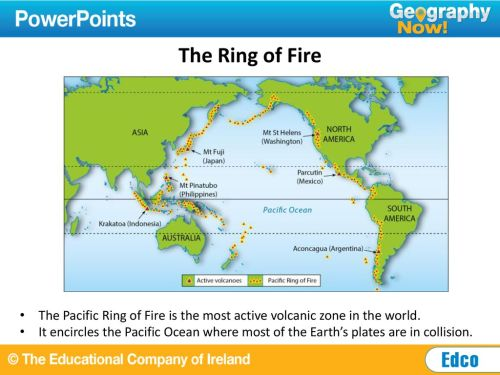 small resolution of the ring of fire the pacific ring of fire is the most active volcanic zone in