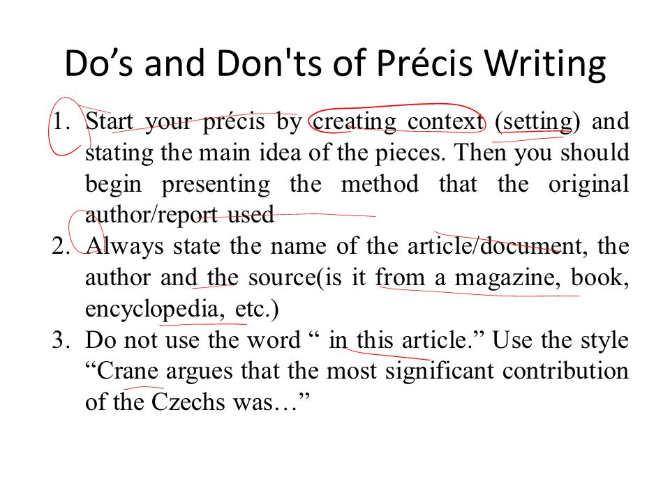 Lecture 18 Précis Writing Ppt Video Online Download