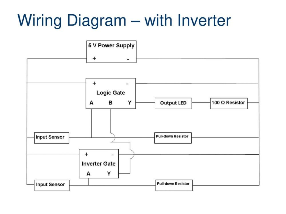 medium resolution of wiring diagram with inverter