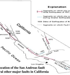 general location of the san andreas fault [ 1024 x 768 Pixel ]