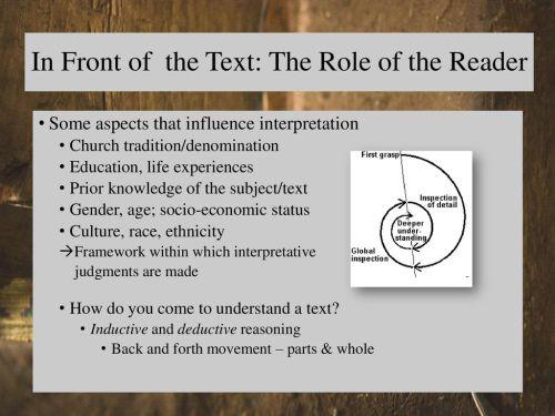 small resolution of philosophical hermeneutics