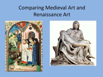 Comparing Medieval Art and Renaissance Art ppt download