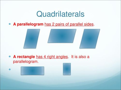 small resolution of Grade 4 - Identify Quadrilaterals - ppt download