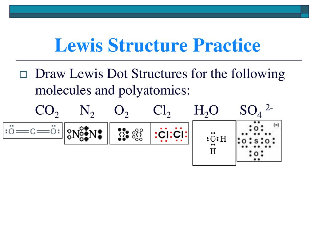 hight resolution of lewis structure practice