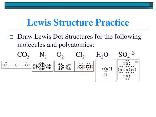 small resolution of lewis structure practice
