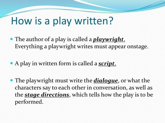 Introduction to Drama. - ppt download