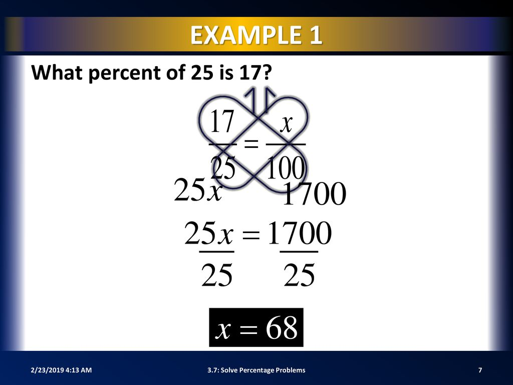 hight resolution of 3.7: Solve Percentage Problems - ppt download