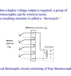 thermal sensors q mct where q is the amount of heat in j t is ac thermostat wiring schematic thermopile wiring diagram [ 1024 x 768 Pixel ]
