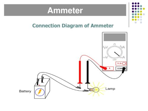 small resolution of 15 connection diagram of ammeter