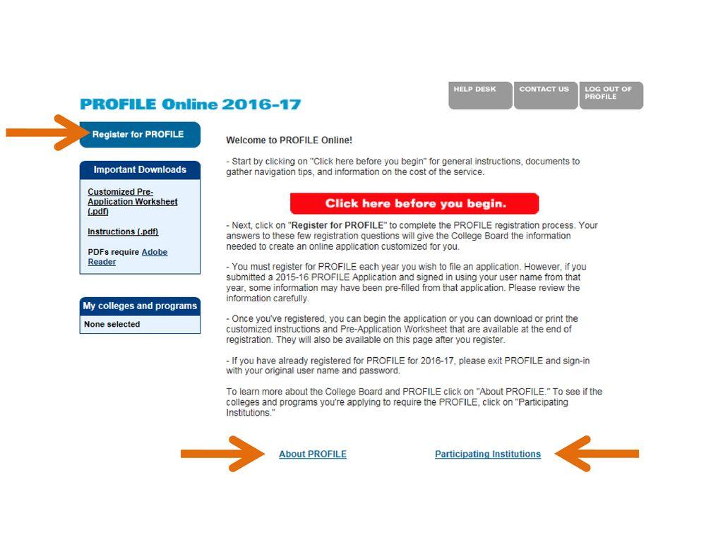 Css Profile Pre Application Worksheet 18