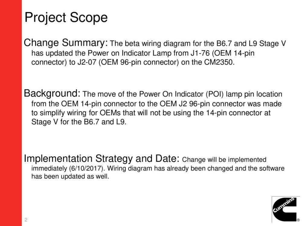 medium resolution of 2 project scope change summary the beta wiring diagram