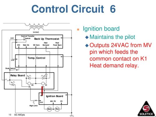 small resolution of control circuit 6 ignition board maintains the pilot