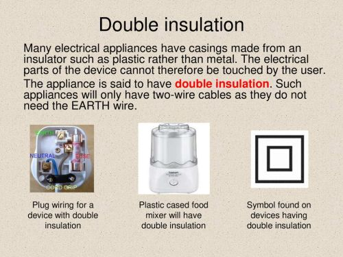 small resolution of wiring a double insulated plug wiring diagram database mains electricity ppt download wiring a double insulated