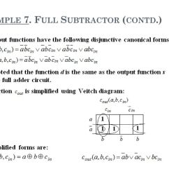 full subtractor contd  [ 1024 x 768 Pixel ]