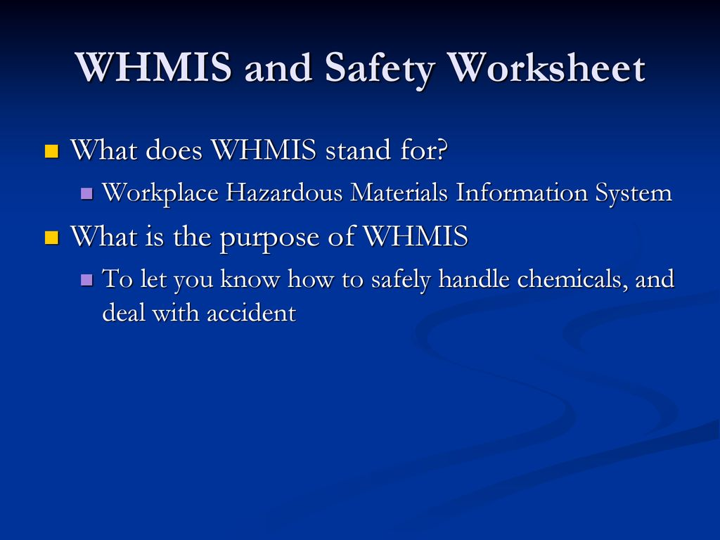 hight resolution of Science Safety SNC2P. - ppt download