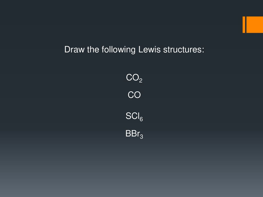 hight resolution of draw the following lewis structures