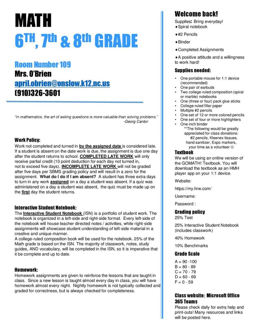 medium resolution of Math Syllabus. - ppt download