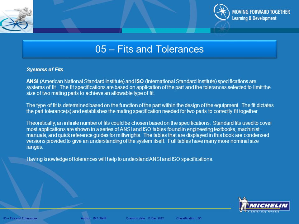 05  Fits and Tolerances  ppt video online download