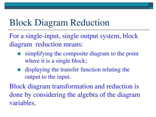 small resolution of 5 block diagram reduction
