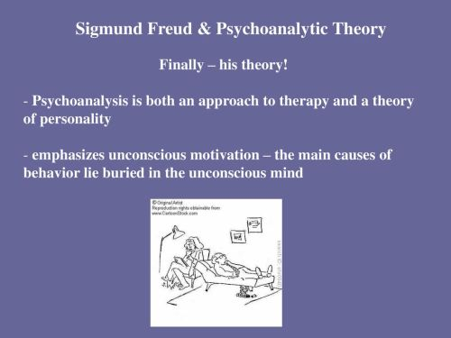 small resolution of sigmund freud psychoanalytic theory