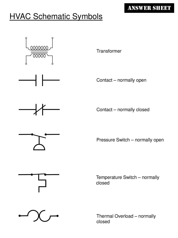 hight resolution of hvac schematic symbols ppt downloadhvac schematic symbols